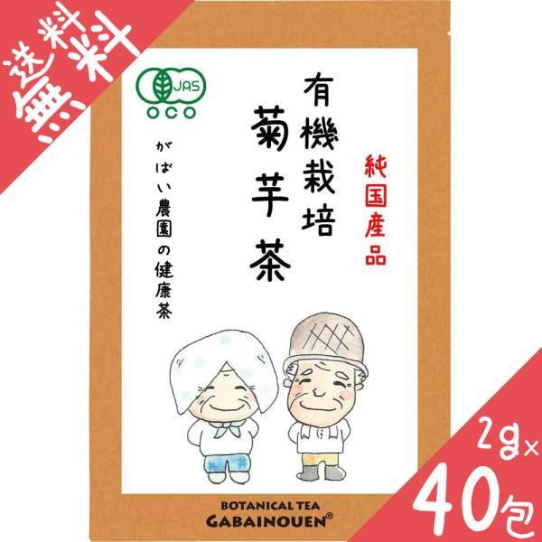 有機栽培 菊芋茶 2g×40包 国産(佐賀県産) 残留農薬・放射能検査済