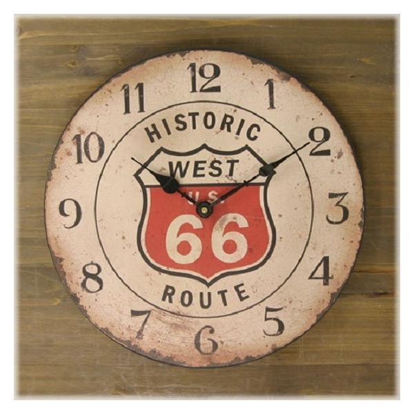 掛け時計 Rejection Cafe Clock Route 66 レジェクション カフェ クロック gacha-com