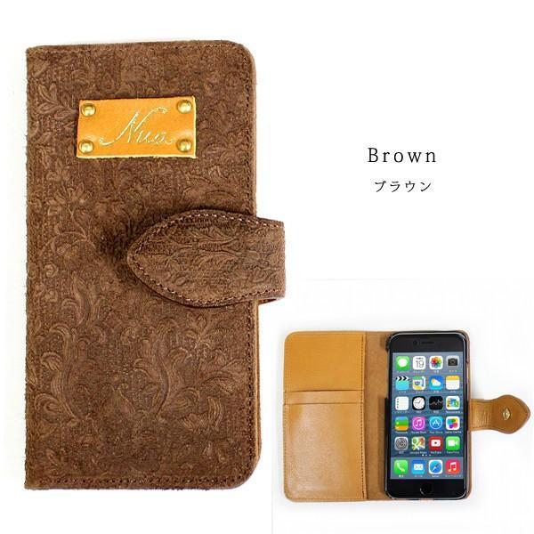 Nua ヌア iphone6s アイフォン 携帯 手帳型 スマホケース 手帳型 カバー 本革 4色展開|gacha-com|03