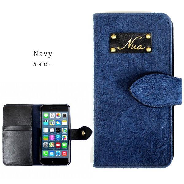 Nua ヌア iphone6s アイフォン 携帯 手帳型 スマホケース 手帳型 カバー 本革 4色展開|gacha-com|04