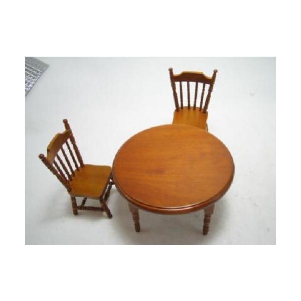 ミニチュア 家具 リアル テーブルセット|gacha-com
