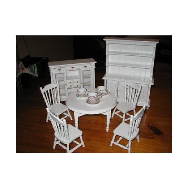 ミニチュア 家具 リアル テーブルセット|gacha-com|03