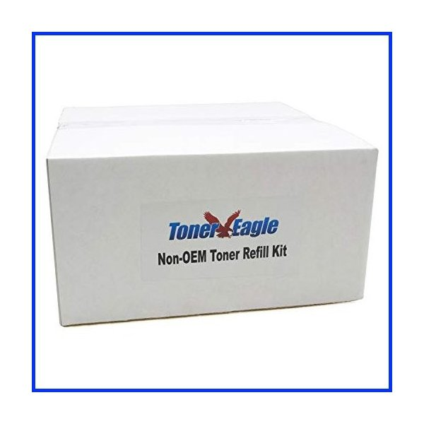 Toner Eagle Toner Refill Kits Compatible with IBM InfoPrint 1880 1880bdx 1880fdx with Chips. [Black, 3-Packs]
