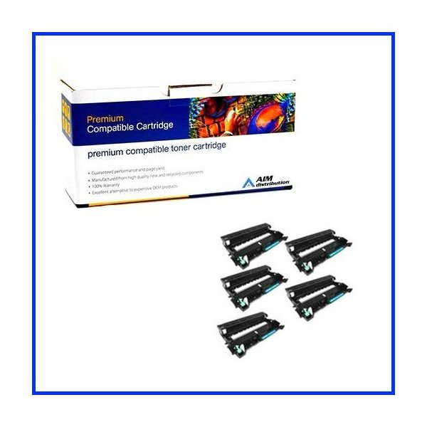 Generic AIM Compatible Replacement for Brother DR-8905PK Black Drum Unit 5//PK-30000 Page Yield