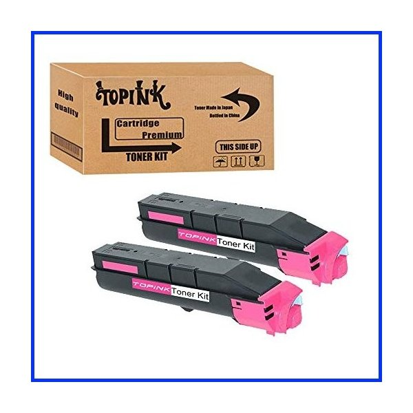 TopInk TK-5207 Replacement for Kyocera TK-5207 Printer Toner Cartridge High Yield-2 Magenta