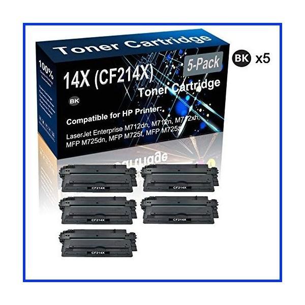 TopInk TK-677 Replacement for Kyocera TK-677 Printer Toner Cartridge High Yield-4 Pack