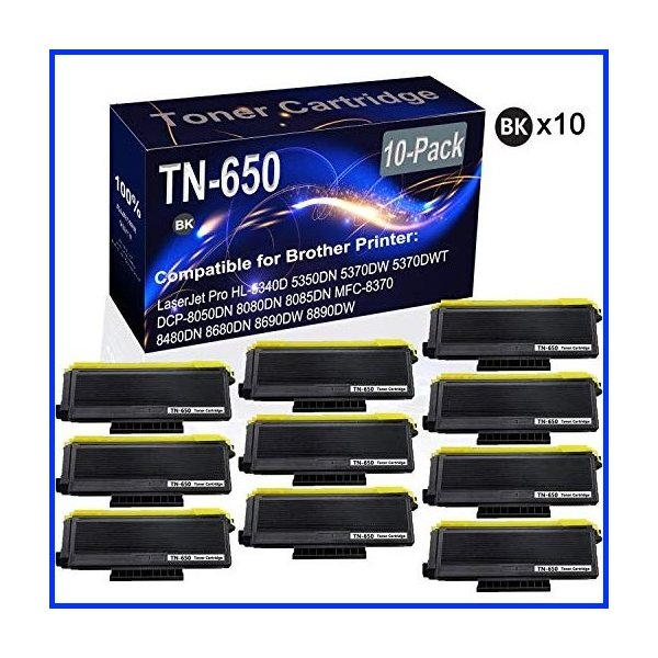 12 Pack 2,000 Pages TCT Premium Compatible Toner Cartridge Replacement for Samsung MLT-D109S Black Works with Samsung SCX-4300 Printers