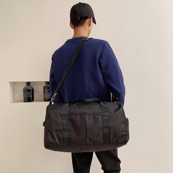 ボストン バッグ 旅行 カバン レディース トラベル 機内 持ち込み メンズ 折りたたみ 大容量 軽量 防水 おしゃれ 2way|gagebell|14