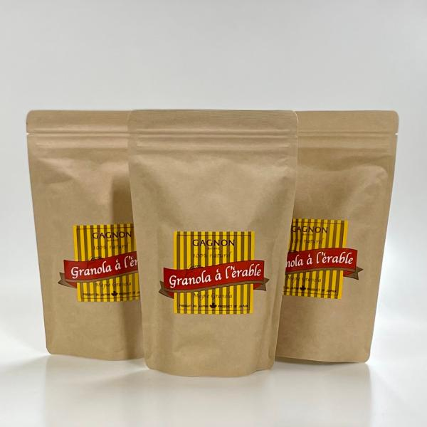 お得なセット!【GAGNON】メープルグラノーラ [180g] 3袋セット gagnon-maple