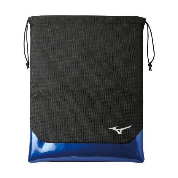 ◆◆送料無料 メール便発送 <ミズノ> MIZUNO 20 シューズ袋 5LJS200200 (0922:ブラック×ブルー) ゴルフ