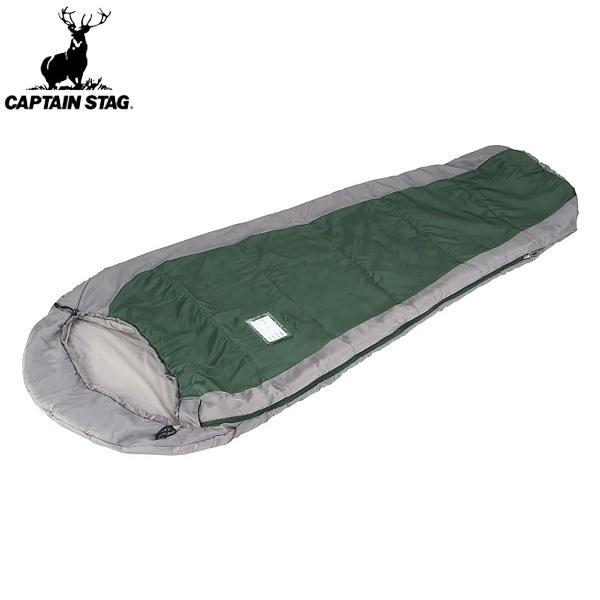 ◆◆ <キャプテン スタッグ> CAPTAIN STAG アクティブキッズマミー(寝袋)300(グリーン) M-3446