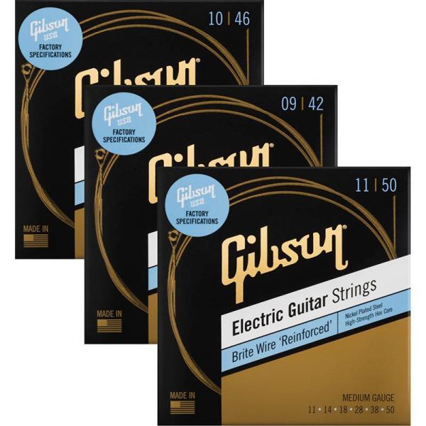 Gibson/SEG-BWRBriteWireReinforcedエレキギター弦 ギブソン