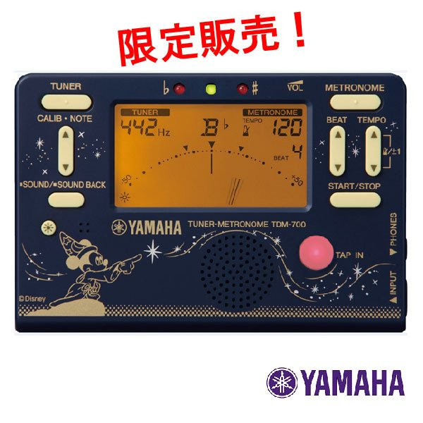 チューナーメトロノーム TDM-700DF2 ヤマハ YAMAHA 送料無料代引き不可 TDM 700
