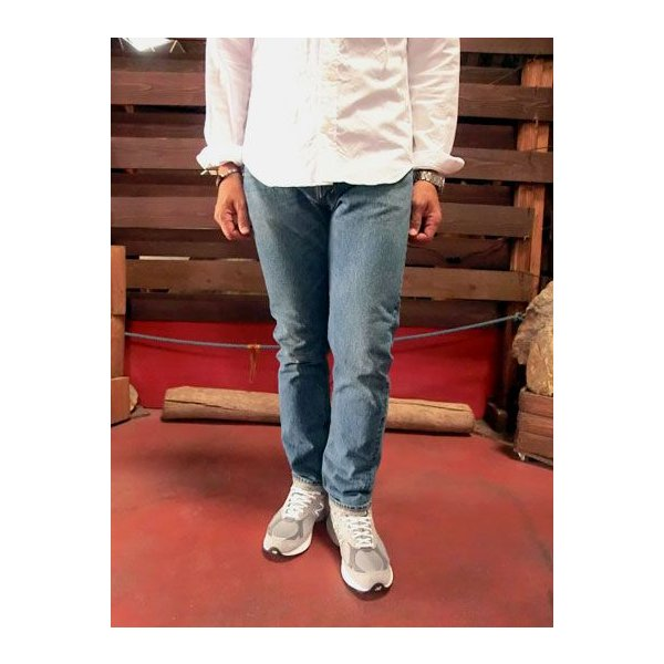 orslow (オアスロウ) 01-0107-84 Mens IVY FIT JEANS アイビーフィットジーンズ 2YEAR WASH  Made in Japan|gaku-shop