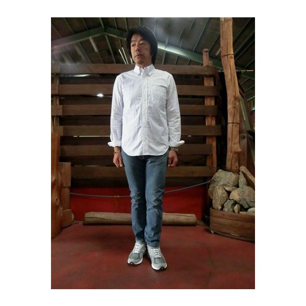 orslow (オアスロウ) 01-0107-84 Mens IVY FIT JEANS アイビーフィットジーンズ 2YEAR WASH  Made in Japan|gaku-shop|02