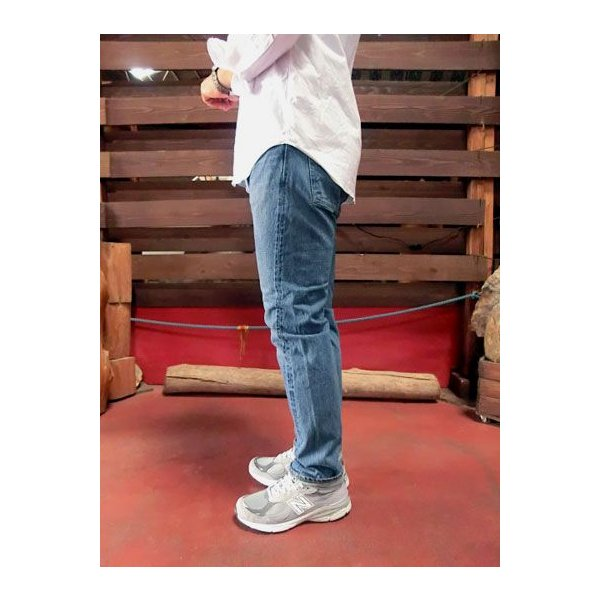 orslow (オアスロウ) 01-0107-84 Mens IVY FIT JEANS アイビーフィットジーンズ 2YEAR WASH  Made in Japan|gaku-shop|06