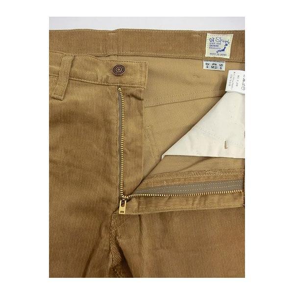 orslow (オアスロウ) 01-0107-C57 Mens IVY FIT PANTS  アイビーフィットパンツ キャメル コーデュロイ Made in Japan gaku-shop 02