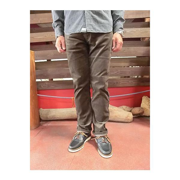 orslow (オアスロウ) 01-0107-C53 Mens IVY FIT PANTS  アイビーフィットパンツ ブラウン コーデュロイ Made in Japan|gaku-shop