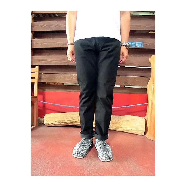 orslow (オアスロウ) 01-0107-61 Mens IVY FIT JEANS BLACK アイビーフィットジーンズ ブラック Made in Japan|gaku-shop