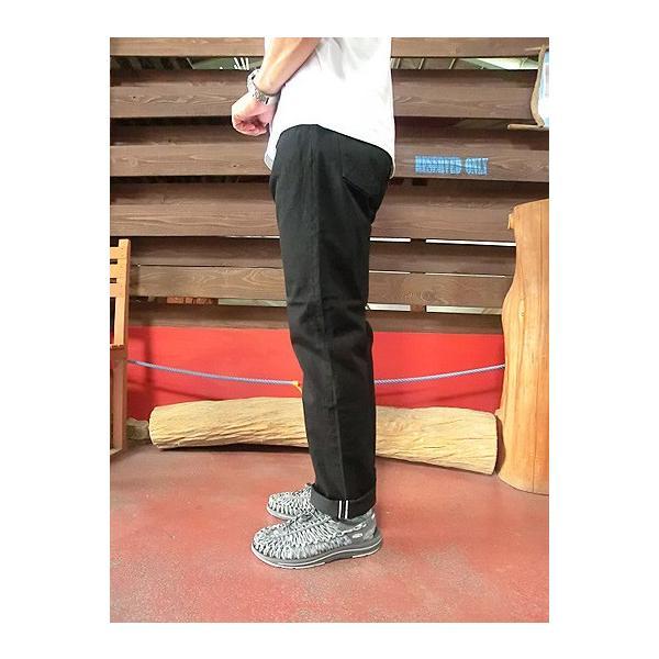 orslow (オアスロウ) 01-0107-61 Mens IVY FIT JEANS BLACK アイビーフィットジーンズ ブラック Made in Japan|gaku-shop|02