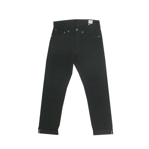 orslow (オアスロウ) 01-0107-61 Mens IVY FIT JEANS BLACK アイビーフィットジーンズ ブラック Made in Japan|gaku-shop|06