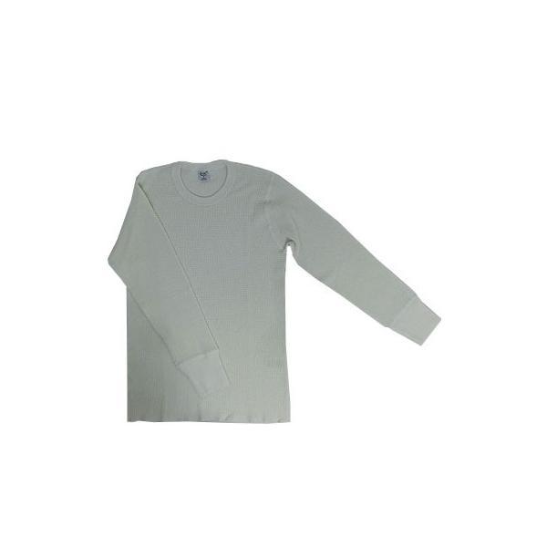 gicipi(ジチピ)(Italy) CANOVACCIO GIRO  M/L サーマル素材クルーネック長袖 イタリア製 BIANCO ホワイト|gaku-shop|03