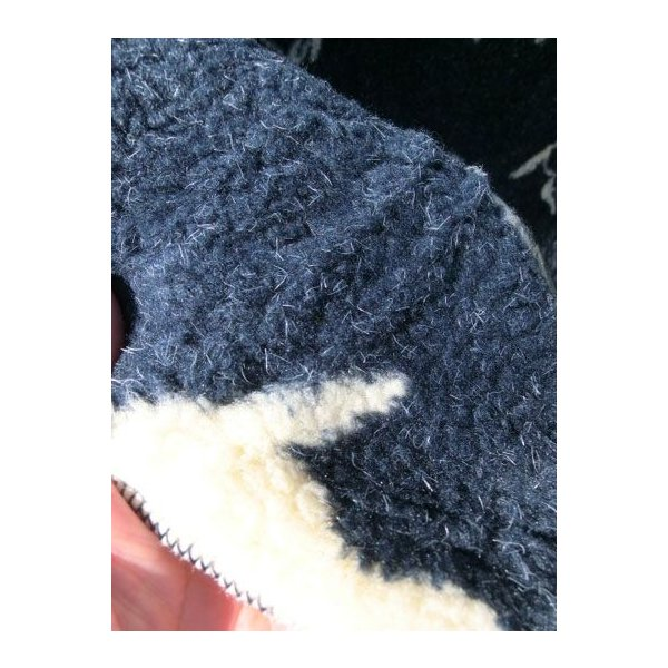 FARFIELD(ファーフィールド) FLEECE BLANKET フリースブランケット ネイビーホース Made in UK|gaku-shop|04