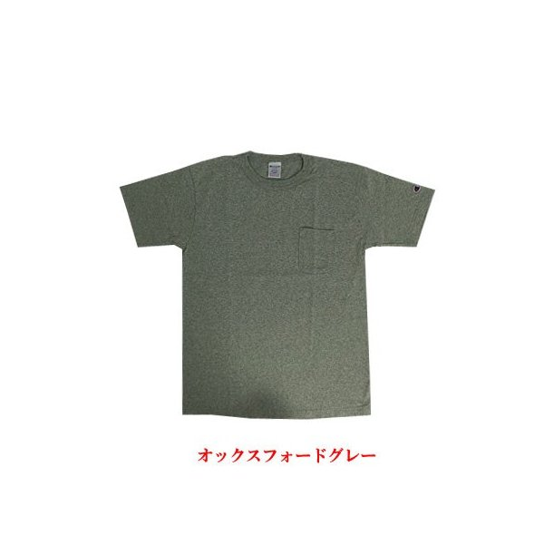Champion チャンピオン 正規品 T-1011 ポケット付きTシャツ ティーテンイレブンUSA製  ホワイト ネイビー グレー gaku-shop 02