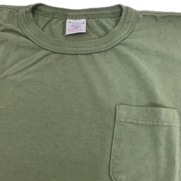 Champion チャンピオン 正規品 T-1011 ポケット付きTシャツ ティーテンイレブンUSA製  ホワイト ネイビー グレー gaku-shop 06