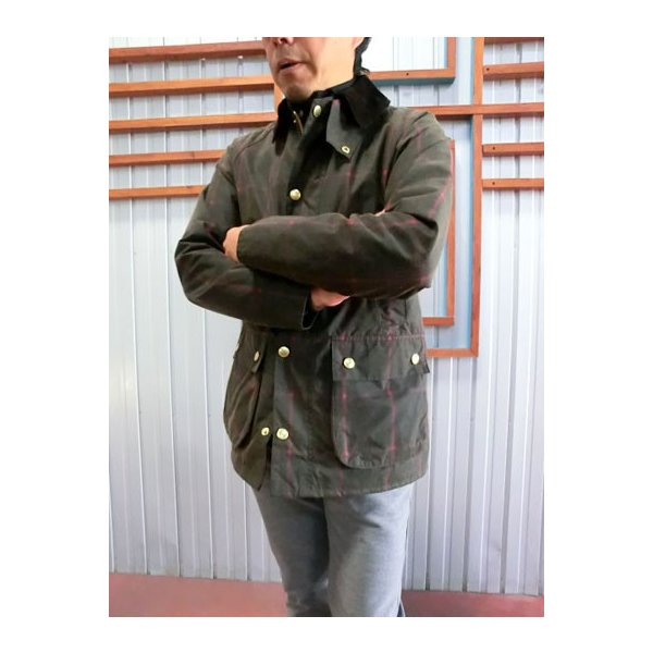 Barbour(バーブァー) バブアー MWX0584 OL71 Bedalle Slim Fit ビデイル スリムフィットWindow Pane Check  ブルガリア製  OL71|gaku-shop|05