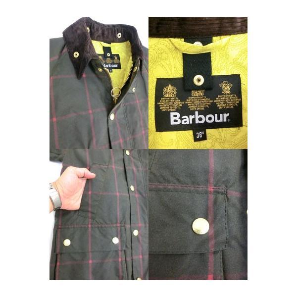 Barbour(バーブァー) バブアー MWX0584 OL71 Bedalle Slim Fit ビデイル スリムフィットWindow Pane Check  ブルガリア製  OL71|gaku-shop|06