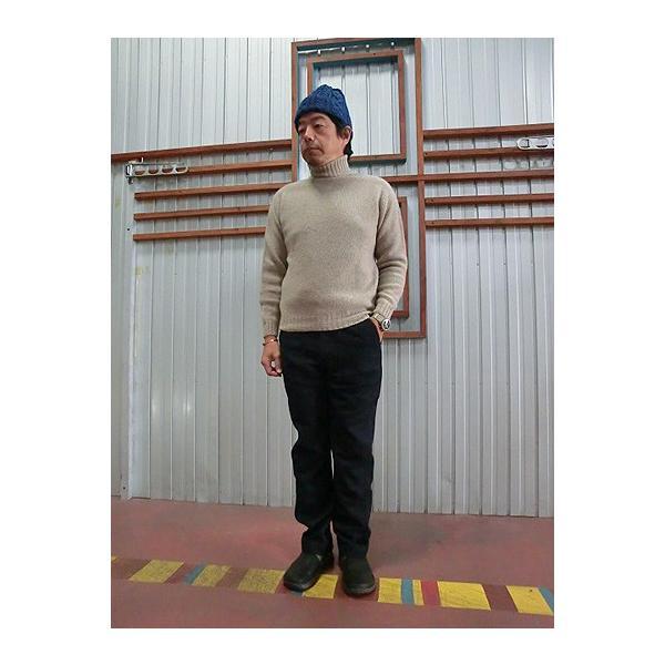 orslow (オアスロウ) 5032-W02 US SLIM FIT FATIGE  ウール素材 ファティーグパンツ Navy|gaku-shop|03