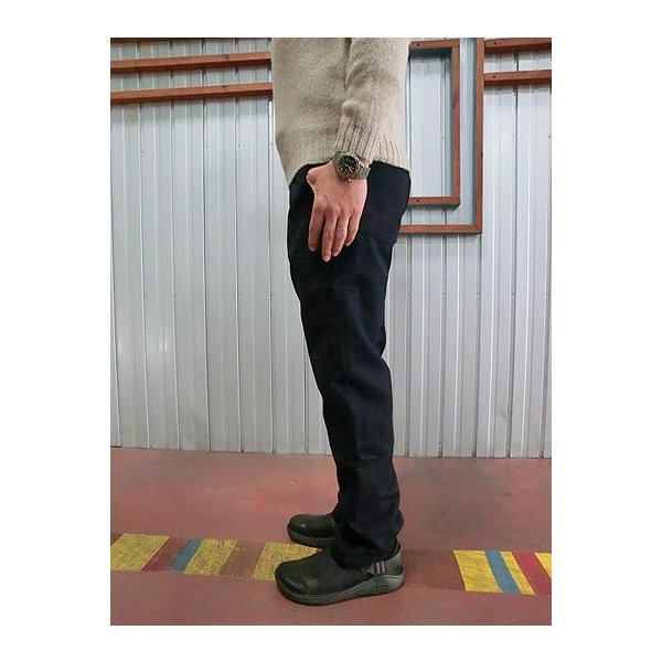 orslow (オアスロウ) 5032-W02 US SLIM FIT FATIGE  ウール素材 ファティーグパンツ Navy|gaku-shop|06