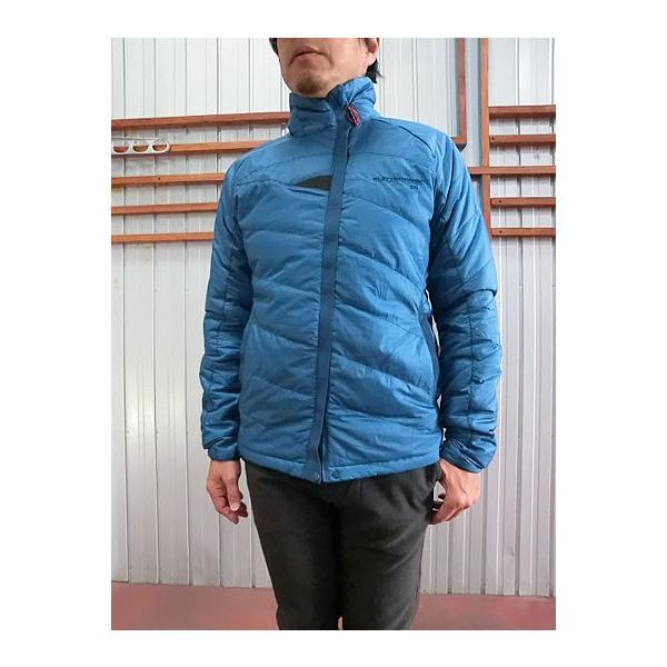 KLATTERMUSEN (クレッタルムーセン) クレッタルムーセン Fro Jacket  Primaloft インサレーション 中綿ジャケット  Blue Sapphire|gaku-shop