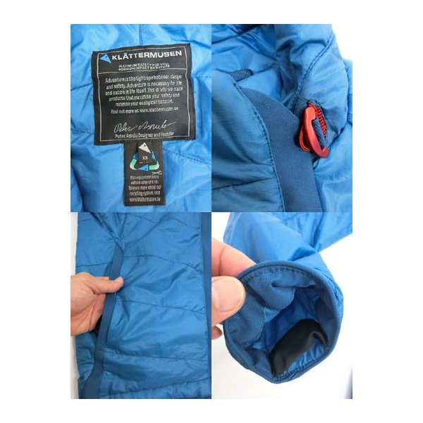 KLATTERMUSEN (クレッタルムーセン) クレッタルムーセン Fro Jacket  Primaloft インサレーション 中綿ジャケット  Blue Sapphire|gaku-shop|04