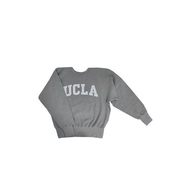 SUNNY SPORTS(サニースポーツ) SUNNY SPORTS(サニースポーツ) UCLA HEAVY-OZ CREW UCLA限定 クルーネック スウェット ヘザーグレー|gaku-shop