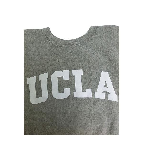 SUNNY SPORTS(サニースポーツ) SUNNY SPORTS(サニースポーツ) UCLA HEAVY-OZ CREW UCLA限定 クルーネック スウェット ヘザーグレー|gaku-shop|02
