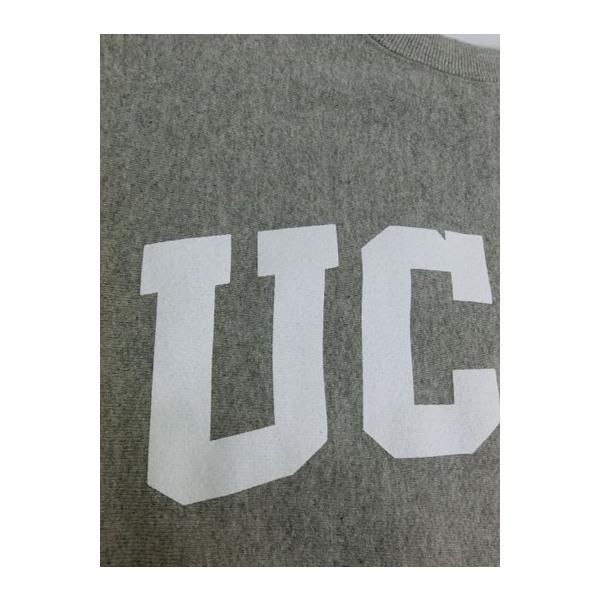 SUNNY SPORTS(サニースポーツ) SUNNY SPORTS(サニースポーツ) UCLA HEAVY-OZ CREW UCLA限定 クルーネック スウェット ヘザーグレー|gaku-shop|03
