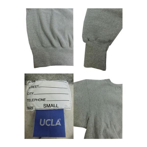 SUNNY SPORTS(サニースポーツ) SUNNY SPORTS(サニースポーツ) UCLA HEAVY-OZ CREW UCLA限定 クルーネック スウェット ヘザーグレー|gaku-shop|05