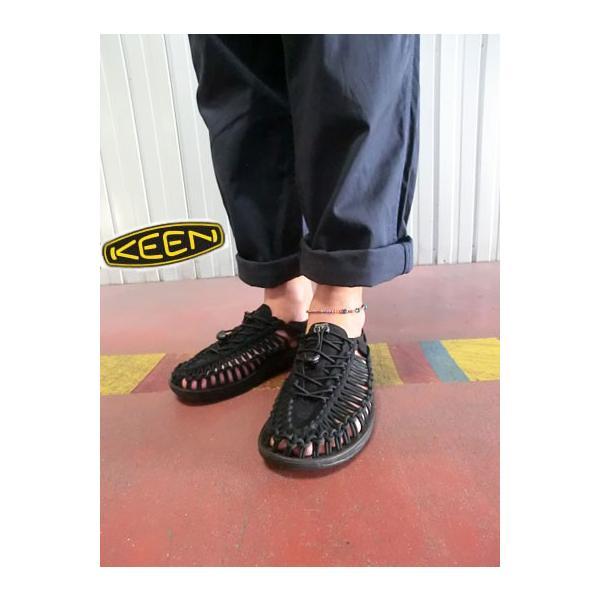 9670122b9f7d KEEN キーン MEN UNEEK 3C メンズ ユニーク BLACK BLACK 履き心地最高 ...