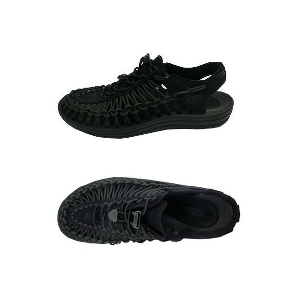 KEEN キーン MEN UNEEK  3C メンズ ユニーク  BLACK/BLACK 履き心地最高|gaku-shop|02