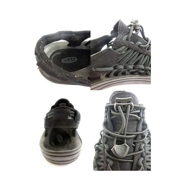 KEEN キーン MEN UNEEK  3C メンズ ユニーク  BLACK/BLACK 履き心地最高|gaku-shop|05