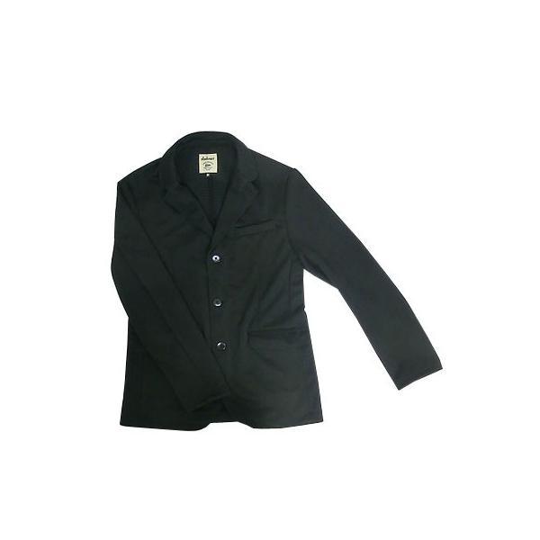 Jackman ジャックマン Jackman ジャックマン JM7930 Jersey Jacket ジャージー3つ釦ジャケット Black|gaku-shop|04