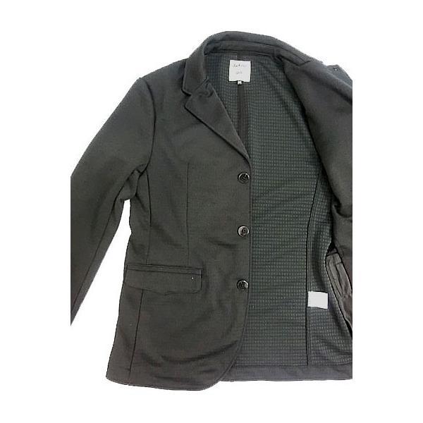 Jackman ジャックマン Jackman ジャックマン JM7930 Jersey Jacket ジャージー3つ釦ジャケット Black|gaku-shop|05