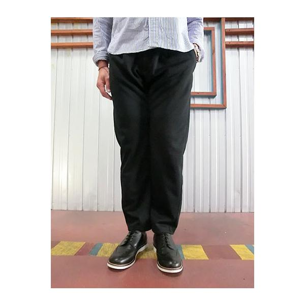 Jackman ジャックマン Jackman ジャックマン JM7931 Jersey Trousers ジャージートラウザー Black|gaku-shop