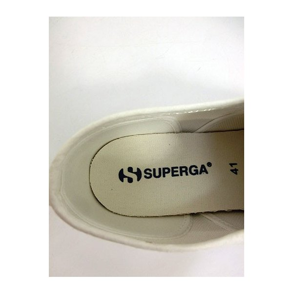 スペルガ SUPERGA 2750 COTU SLIPON スリッポン スニーカー White|gaku-shop|05