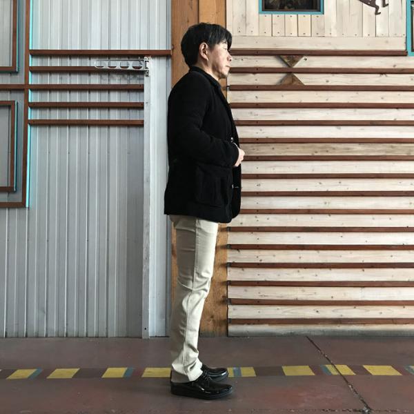 STUDIO ORIBE(スタジオオリベ) L POCKET PANTS LP01 オン、オフで活躍 Lポケットストレート ストレッチ素材パンツ BEIGE ベージュ|gaku-shop|05