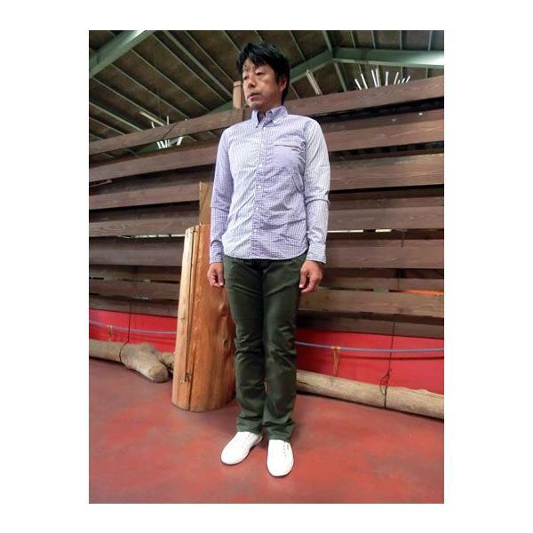 STUDIO ORIBE(スタジオオリベ)  定番で活躍 D−KAN PANTS Dカンパンツ ヒップ立体ポケットが好評 カーキ|gaku-shop|03