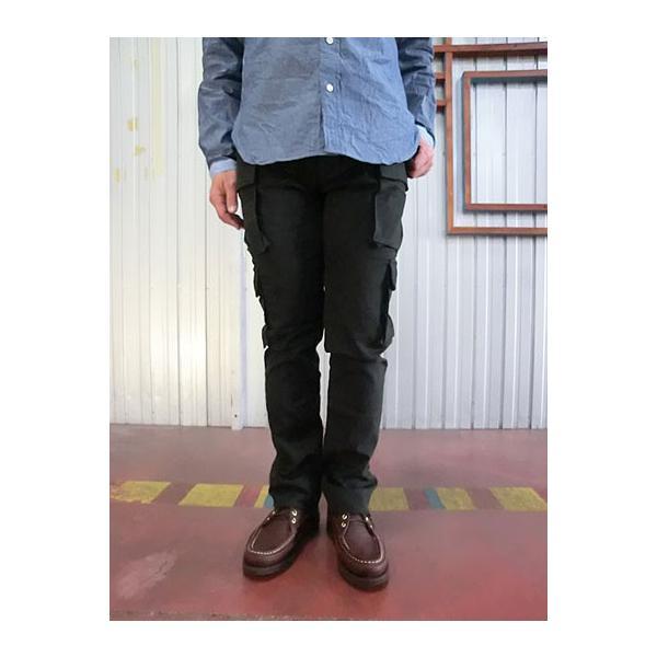 STUDIO ORIBE(スタジオオリベ) EP05 細身でスタイリッシュに穿ける 8ポケットカーゴパンツ ダークブラウン |gaku-shop