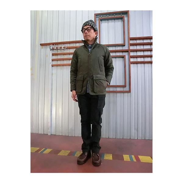 STUDIO ORIBE(スタジオオリベ) EP05 細身でスタイリッシュに穿ける 8ポケットカーゴパンツ ダークブラウン |gaku-shop|06